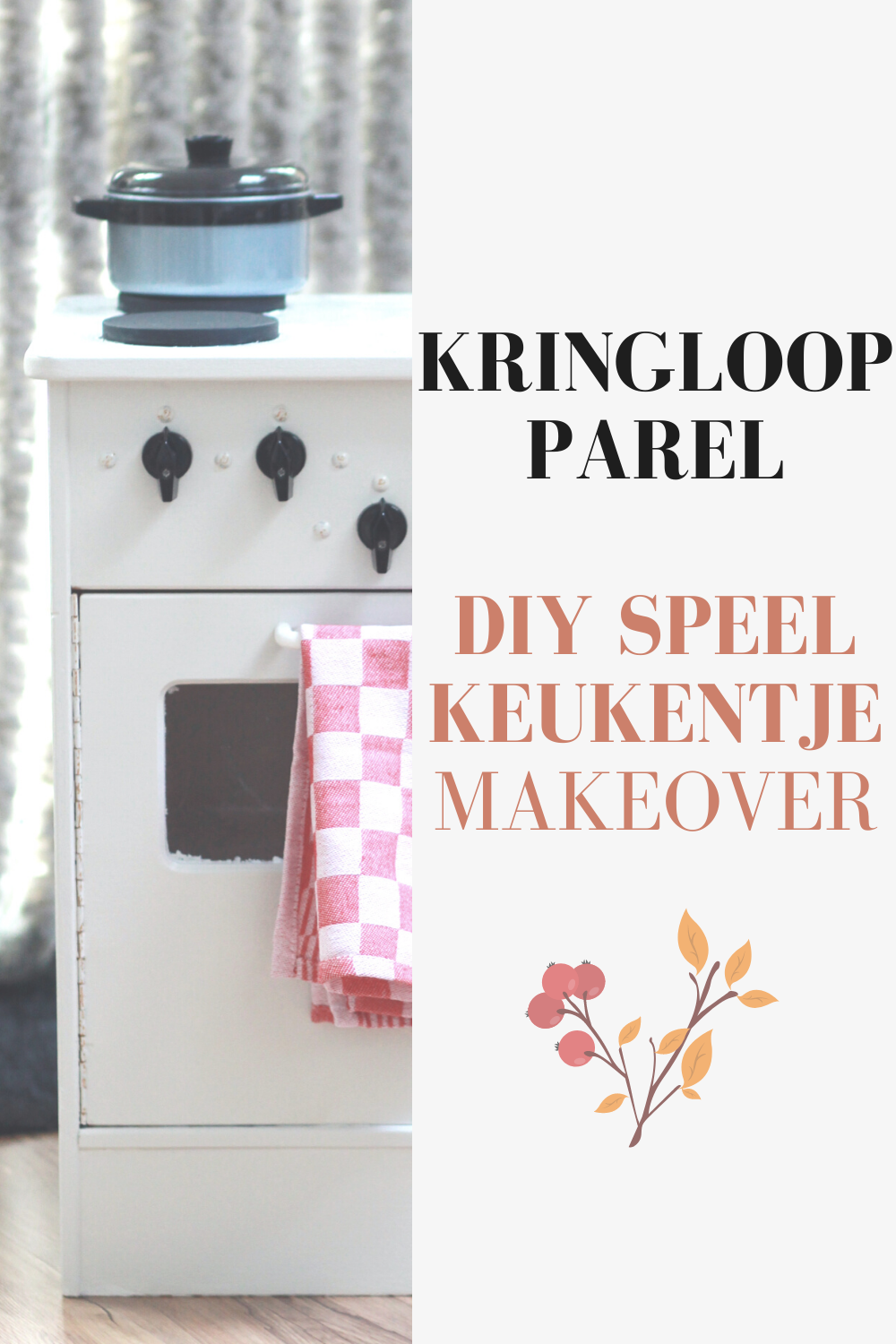 DIY Speelkeukentje Makeover